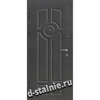 Стальная дверь 00-68, МДФ + МДФ