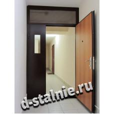 Стальная дверь 00-51, Порошковое напыление + Ламинат