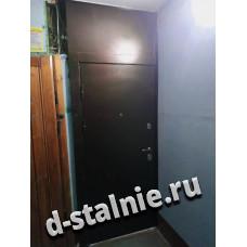 Стальная дверь 00-87, Порошковое напыление + МДФ