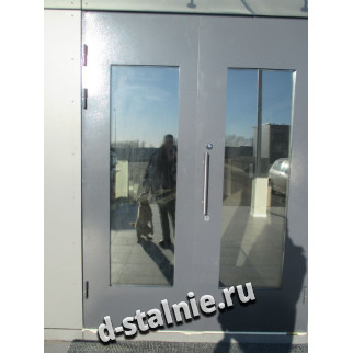 Стальная дверь 00-99, Порошковое напыление + Порошковое напыление