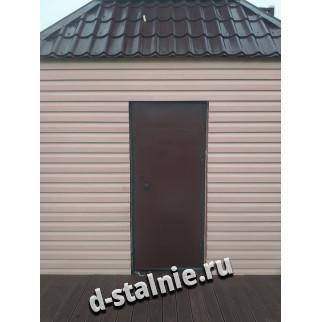Стальная дверь 00-89, Краска + Краска