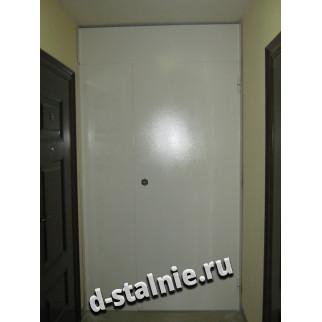 Стальная дверь 00-50, Порошковое напыление + Порошковое напыление