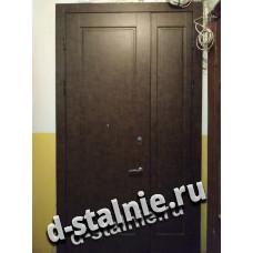 Стальная дверь 00-12, МДФ + МДФ