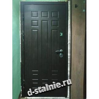Стальная дверь 00-16, МДФ + МДФ