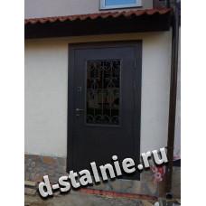 Входная металлическая дверь КТ-005,  Порошковое напыление + Порошковое напыление