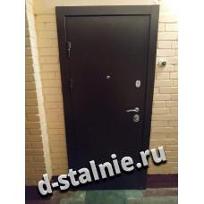 Стальная дверь 00-88, Порошковое напыление + МДФ