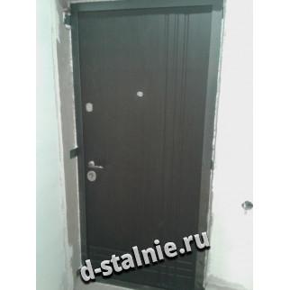 Стальная дверь 00-32, МДФ + МДФ