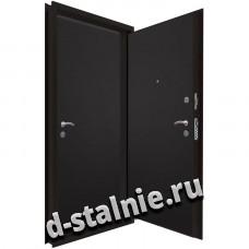 Стальная дверь 00-73, Порошковое напыление + МДФ