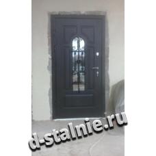 Стальная дверь КТ-003, МДФ + МДФ