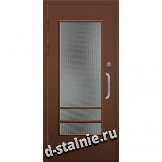 Стальная дверь 00-75, Порошковое напыление + Порошковое напыление
