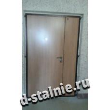 Стальная дверь 00-60, Ламинат + Ламинат