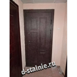 Стальная дверь 00-81, МДФ + МДФ