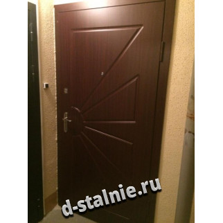 Стальная дверь 00-33, МДФ + МДФ