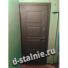 Стальная дверь 00-80, МДФ + МДФ