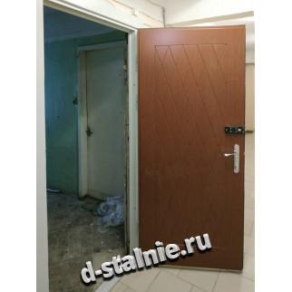 Стальная дверь 00-21, МДФ + МДФ