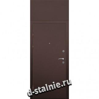 Стальная дверь 00-72, Порошковое напыление + МДФ
