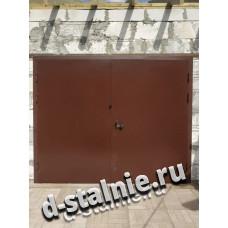 Стальные ворота 00-15, Краска + Краска