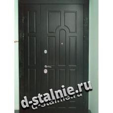 Стальная дверь 00-10, МДФ + МДФ