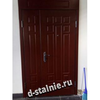 Стальная дверь 01-05, МДФ + МДФ