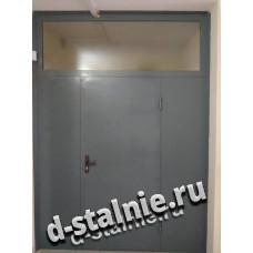 Стальная дверь 00-30, Грунт + Ламинат