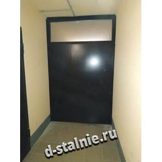 Стальная дверь 1-002, Краска + Краска