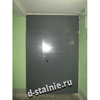 Стальная дверь 00-56, Порошковое напыление + Порошковое напыление