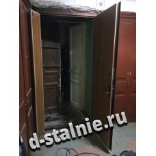 Стальная дверь 01-03, Ламинат + Ламинат