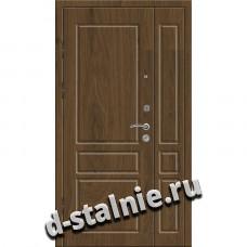Стальная дверь 00-70, МДФ + МДФ