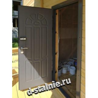Стальная дверь 00-23, МДФ + МДФ
