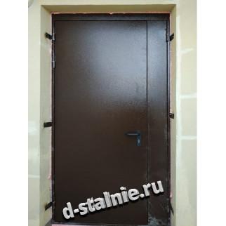 Стальная дверь 00-29, Порошковое напыление + Порошковое напыление