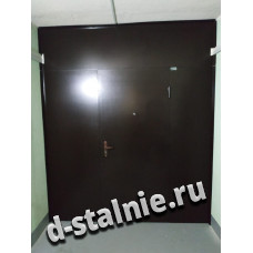Стальная дверь 1-003, Краска + Краска