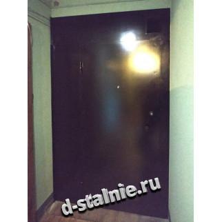 Стальная дверь 00-27, Краска + Ламинат