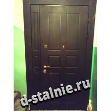 Входная металлическая дверь 1-011,  МДФ +  МДФ