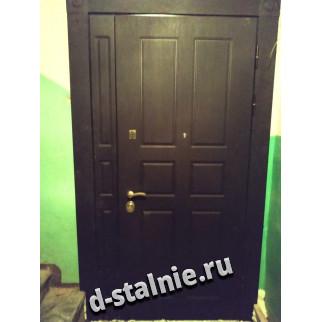 Стальная дверь 1-011, МДФ + МДФ