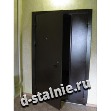 Стальная дверь 00-54, Порошковое напыление + Порошковое напыление
