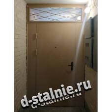 Стальная дверь 00-18, Порошковое напыление + Ламинат