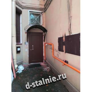 Стальная дверь 00-91, МДФ + МДФ