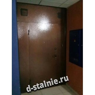 Стальная дверь 00-49, Порошковое напыление + Порошковое напыление