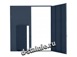 Стальная дверь 00-78, Порошковое напыление + Порошковое напыление