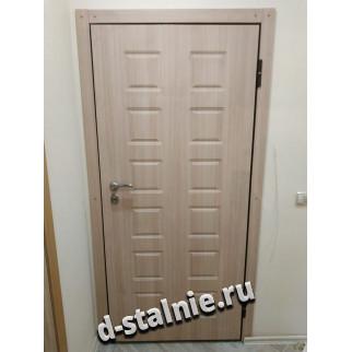 Стальная дверь 1-009, МДФ + МДФ