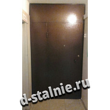 Стальная дверь 00-52, Порошковое напыление + Порошковое напыление