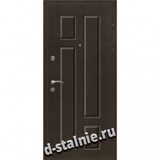 Стальная дверь 00-66, МДФ + МДФ