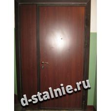 Стальная дверь 01-02, Ламинат + Ламинат