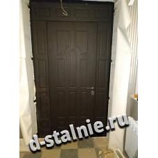 Стальная дверь 1-013, МДФ + МДФ