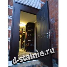 Входная металлическая дверь 1-010,  МДФ +  МДФ