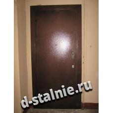 Стальная дверь 00-34, Порошковое напыление + Порошковое напыление
