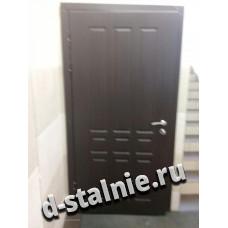 Стальная дверь 00-39, МДФ + МДФ