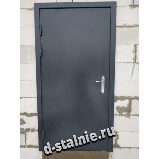 Стальная дверь 1-007, Краска + Краска