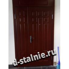 Стальная дверь 00-62, МДФ + МДФ
