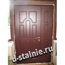 Стальная дверь 00-95, МДФ + МДФ